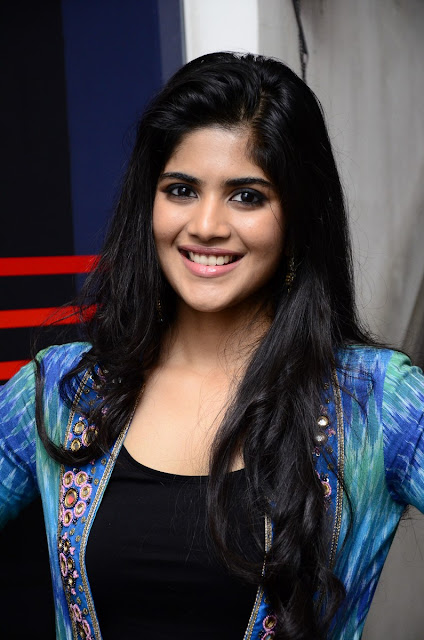 megha akash at lie success meet photos