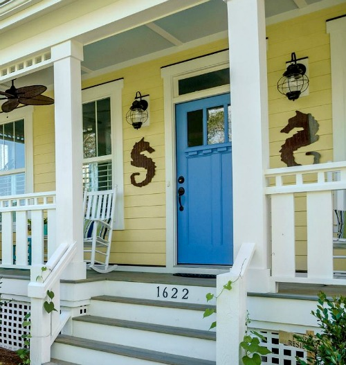 Coastal Amp Nautical Decorations For The Front Door Entry