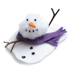 Melting Snowman Craft