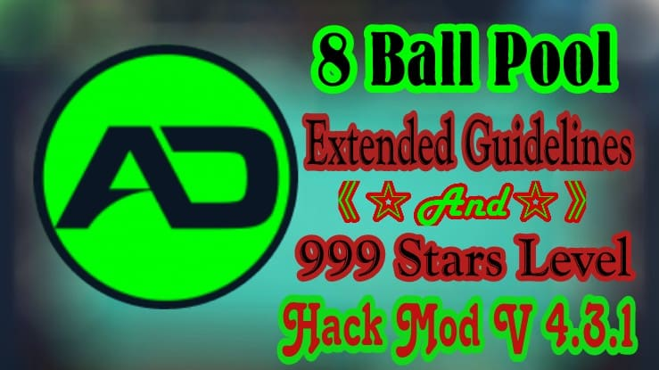 8 Ball Pool 999 Stars Level Hack Mod | Version 4 3 1