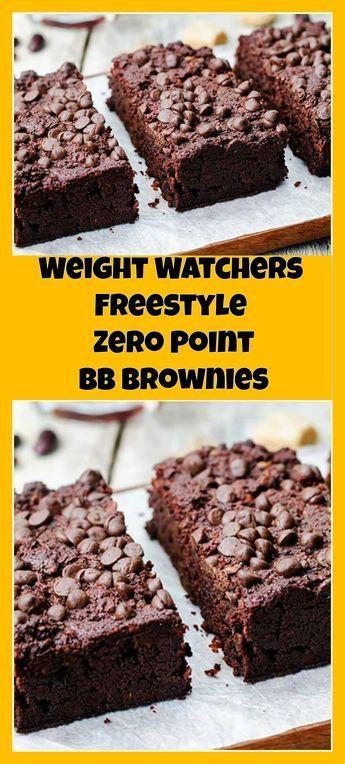 Weight Watchers Freestyle Zero Point BB Brownies