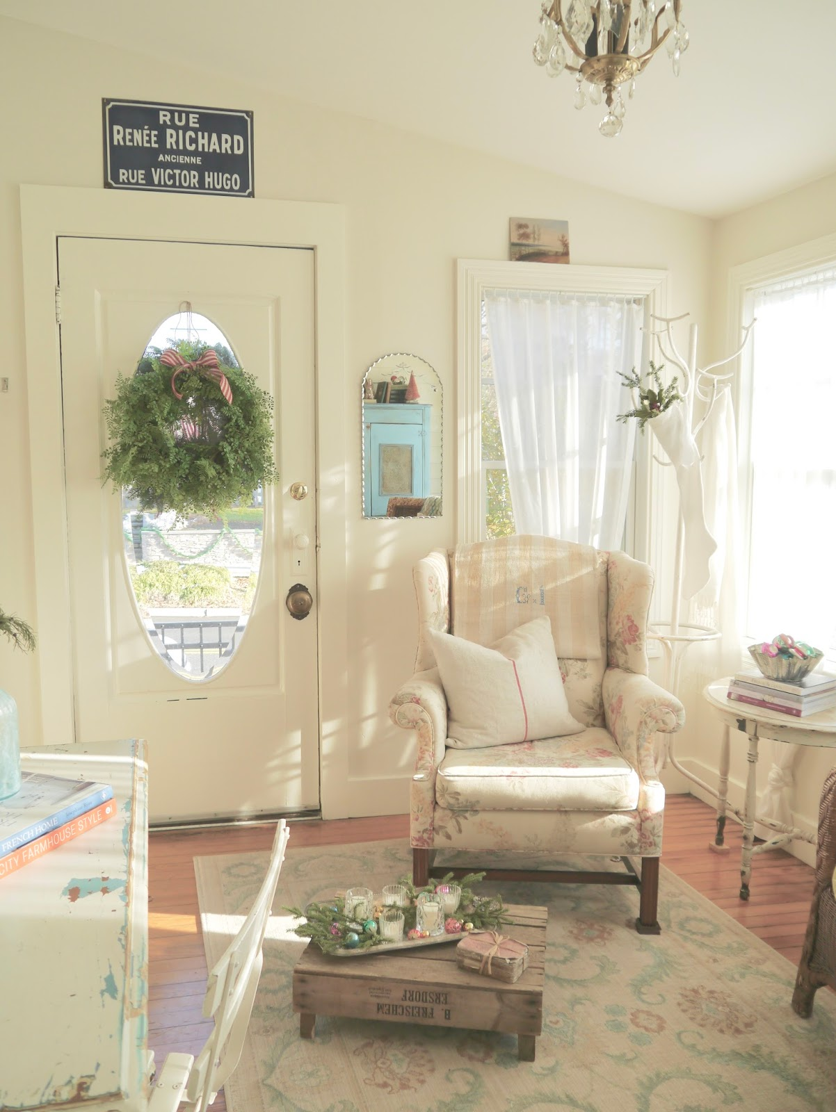 Chateau Chic: A French Style Cottage Christmas Tour