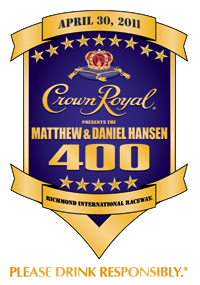 Crown Royal Presents the Matthew & Daniel Hansen 400 #NASCAR