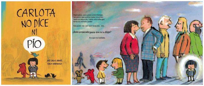 cuentos libros infantiles superar vencer timidez carlota no dice ni pío
