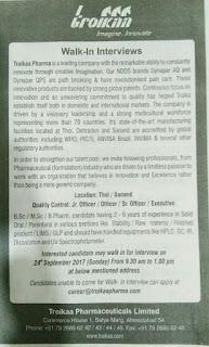 lupin jobs 2017