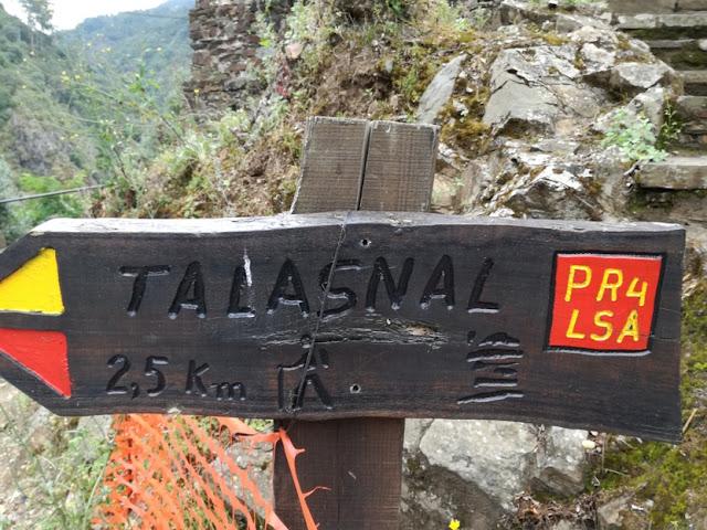 Percurso pedestre Talasnal