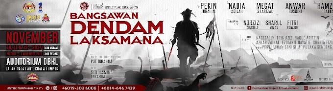 """Teater Bangsawan Dendam Laksamana Adaptasi Dari Kisah """"Sultan Mahmud Mangkat Dijulang"""""""