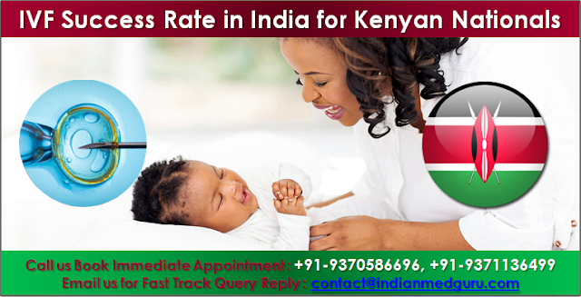 IVF Success Rate in India for Kenyan Nationals