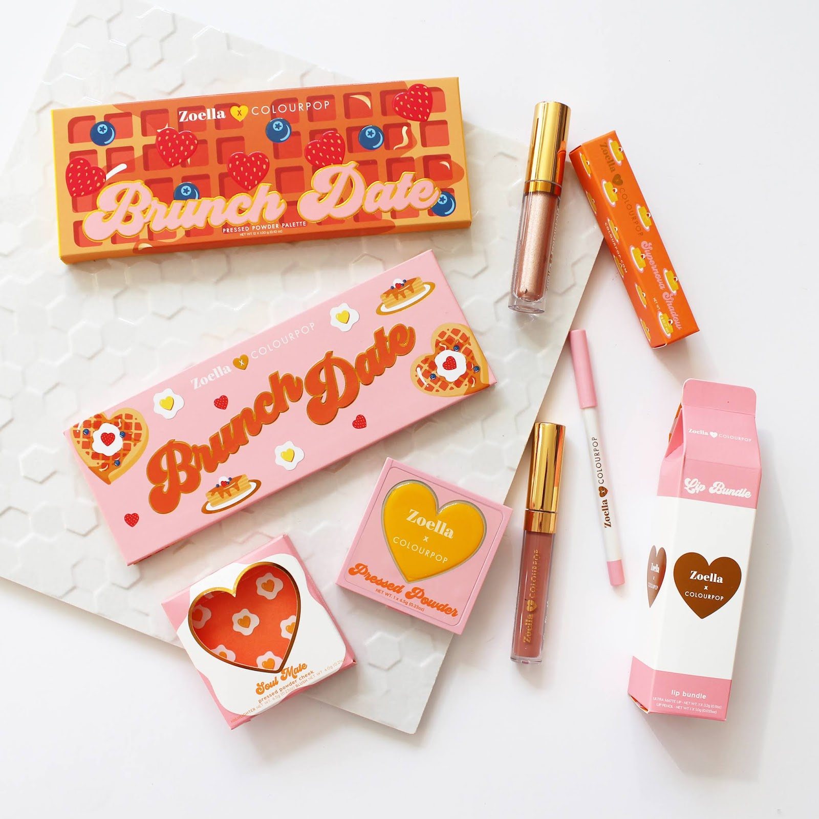 COLOURPOP | Zoella Collaboration Haul + Swatches - CassandraMyee