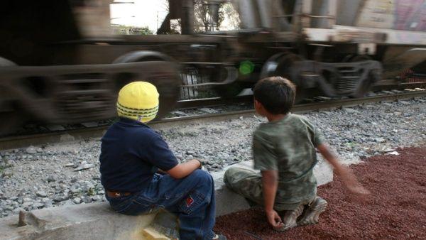 Aumenta 900 % detención de niños migrantes en México