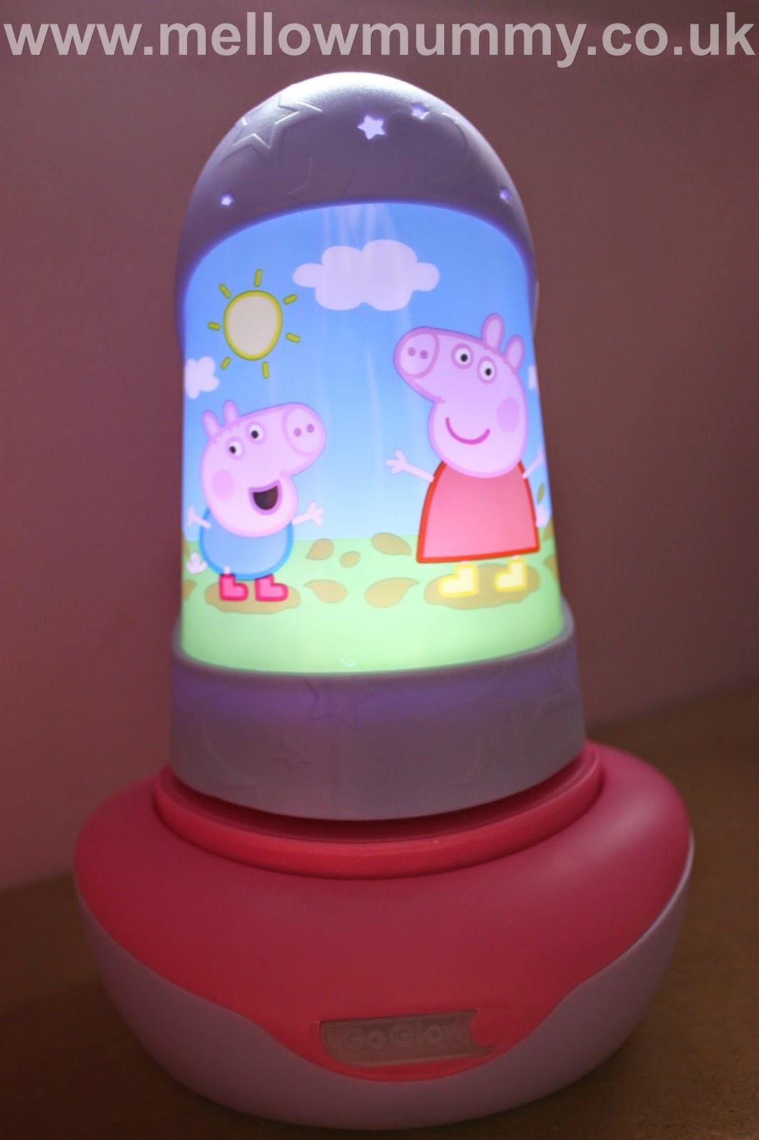 Mellow Mummy Peppa Pig Goglow Night Bright Light Review Taking