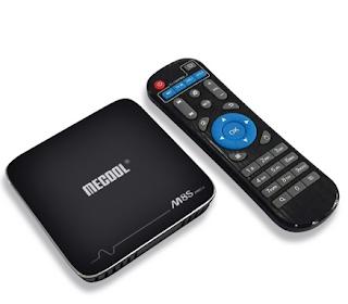 Meccol M8S Pro + TV Box