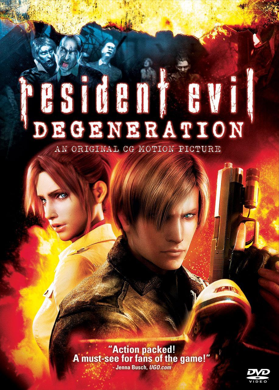 evil anime filme Resident