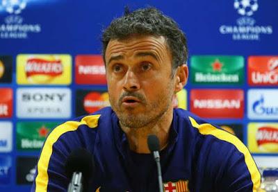 Enrique's quit notice stuns Barca players