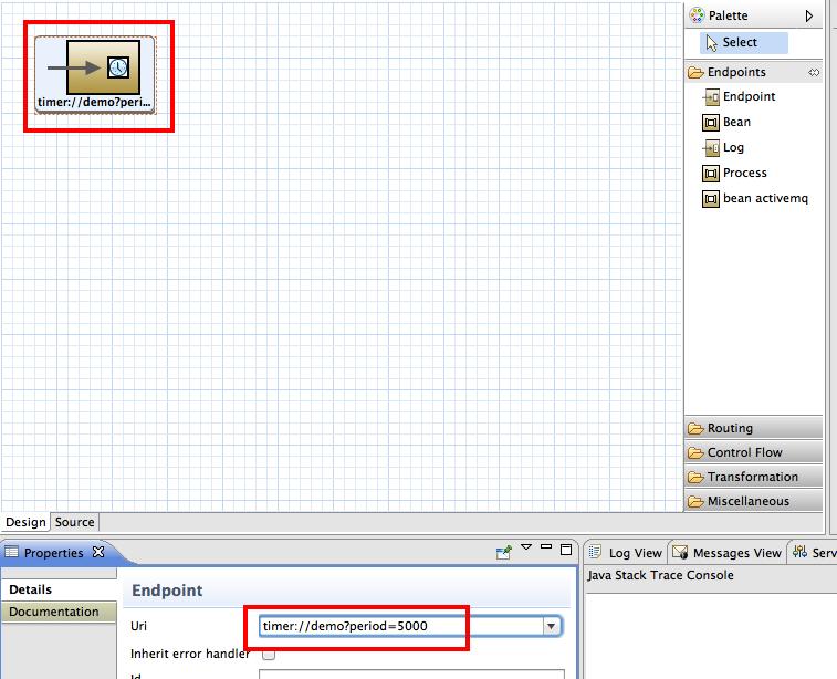 Red Hat JBoss Fuse - Sending message to queue in ActiveMQ