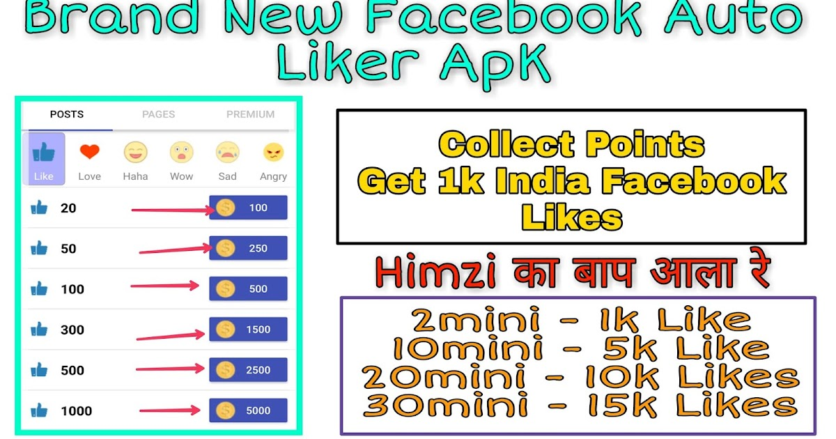 Facebook Par 1 Click Me 1k Like Kaise Badhaye? Best Facebook