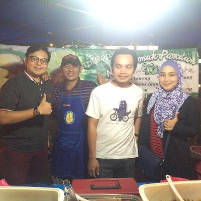 Bersama Blogger Aril Myzn, DhiaVivadea dan Najeeb Abdullah
