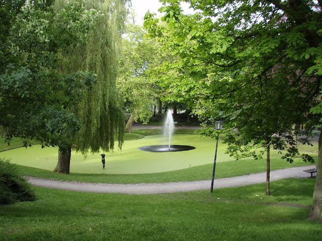 Leeuwarden, Prinsentuin, Garden, Pier Pander Museum