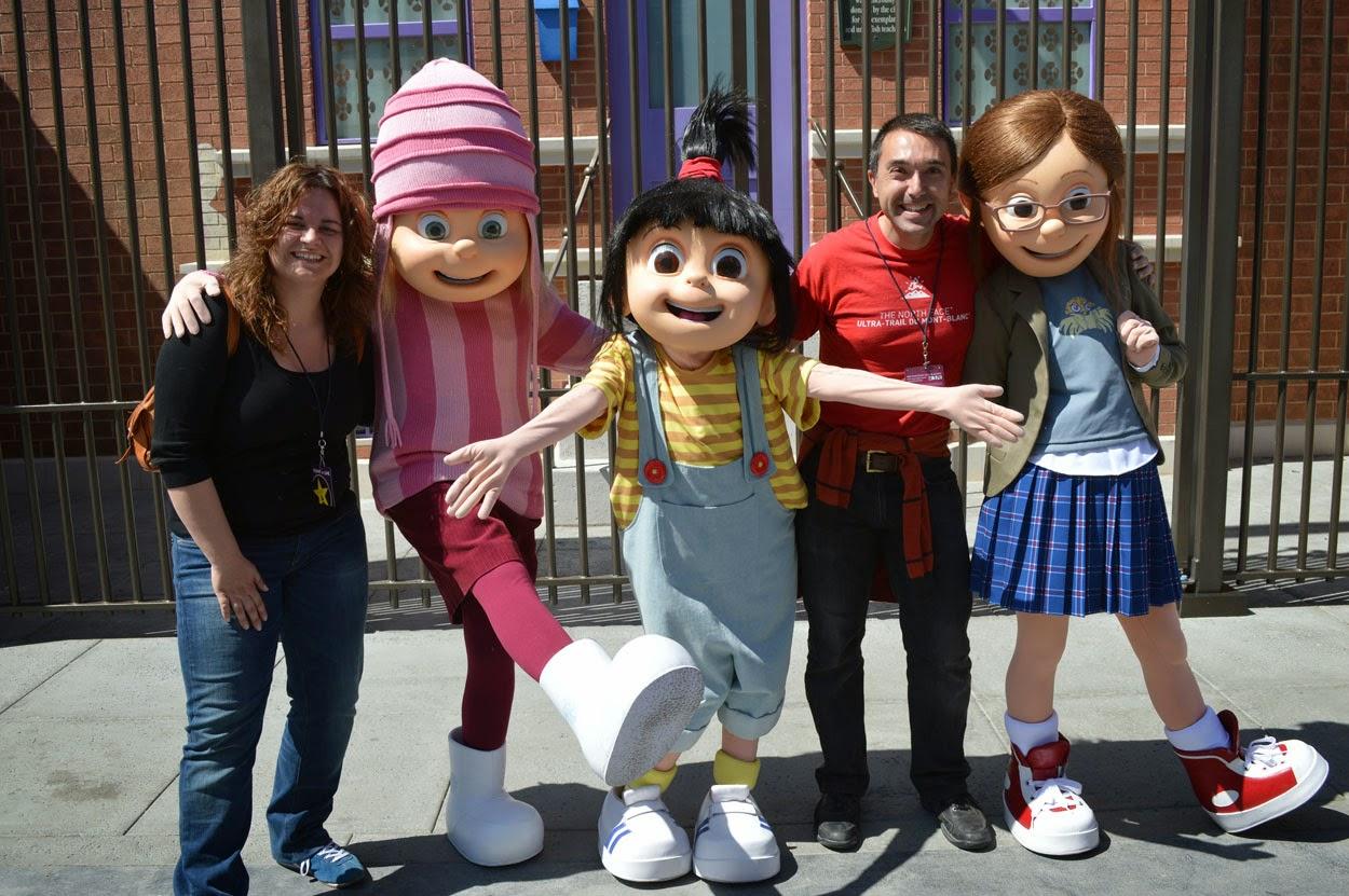 Personajes Comunes En Un Viaje En Autobús: Mis Viajes Por El Mundo: Universal Studios Hollywood, Los