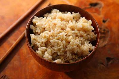 الأرز البني غني بالالياف