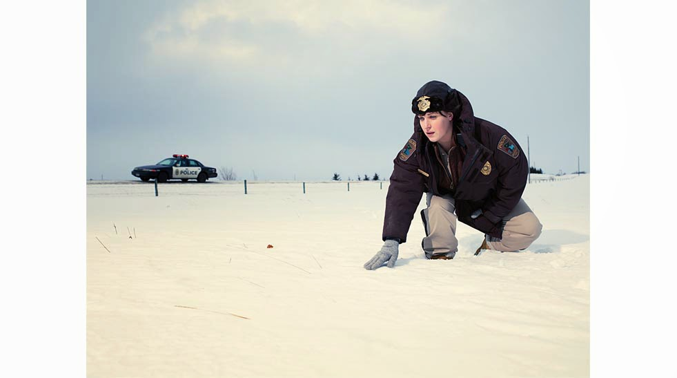 Allison Tolman as Deputy Molly Solverson in FX Fargo Season 1 Episode 5 The Six Ungraspables