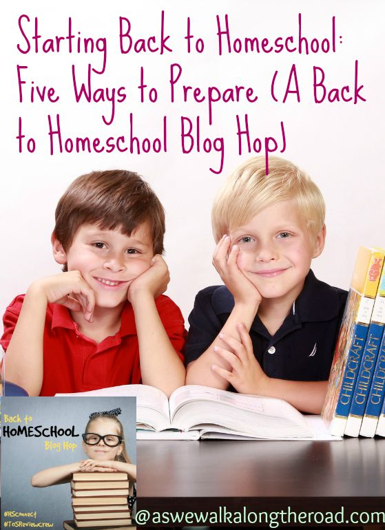 Preparing for a new homeschool year