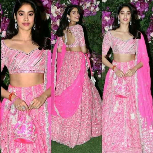 jhanvi kapoor in akash ambani marriage