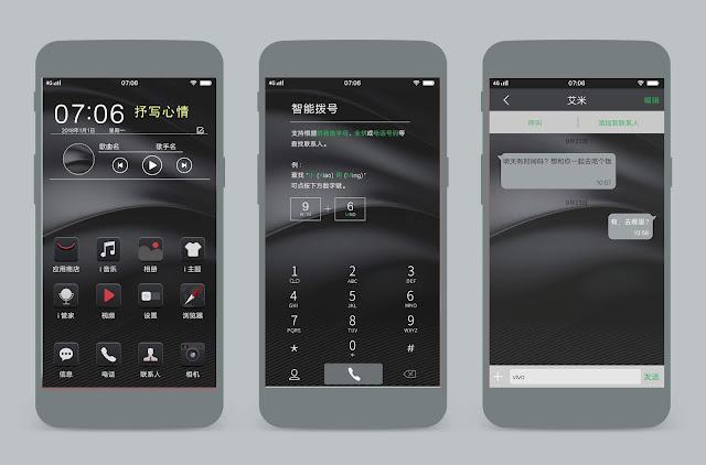 Dark Mode Theme For Vivo Smartphone