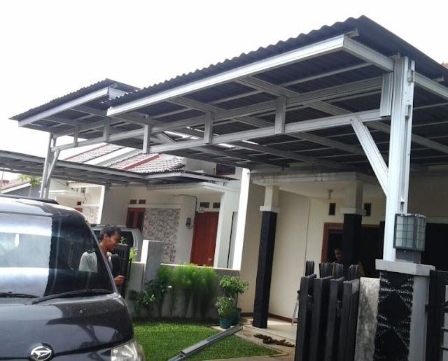 model teras rumah minimalis terbaru