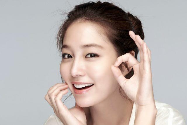 Model Rambut Sanggul Ala Lee Min Jung