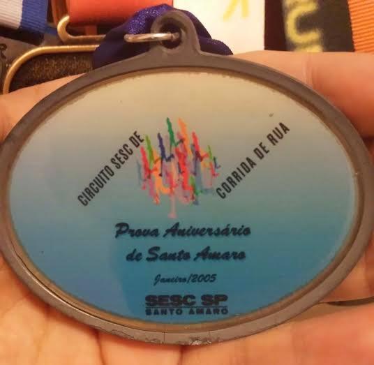 07cc6042d3 Minha primeira medalha...uma das mais importantes da minha coleção.