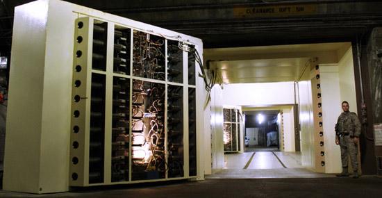 Cheyenne Mountain Air Force Station door