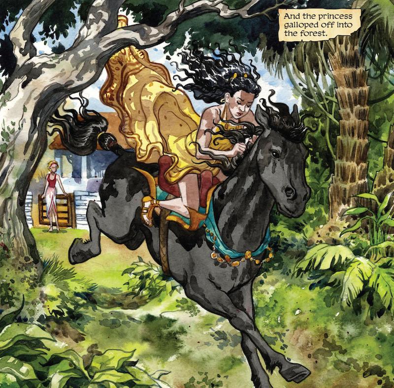 Wonder Woman: The True Amazon, By Jill Thompson Letters: Jason Arthur  Wonder Woman created by William Moulton Marston, H. G. Peter, Elizabeth Holloway Marston, Olive Byrne.