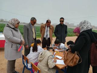 الفقيه بن صالح:مجموعة مدارس أولاد الجابري تخلد اليوم الوطني للسلامة الطرقية