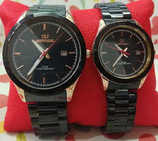 Jam tangan couple original,mirage