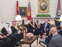 Trump: Saudi Negara Kaya, Mereka Akan Memberikan Kekayaan Itu untuk AS