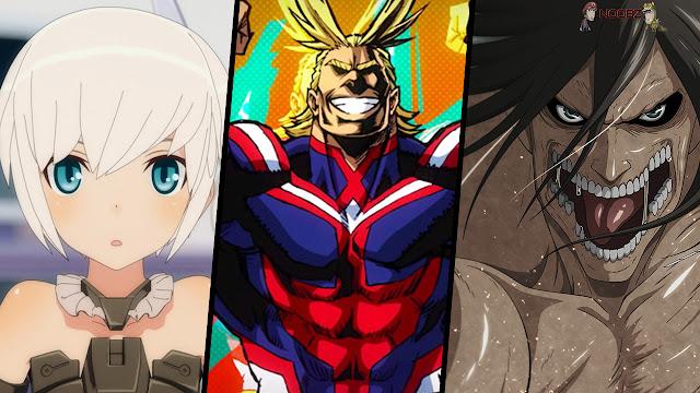 Animes populares primavera 2017