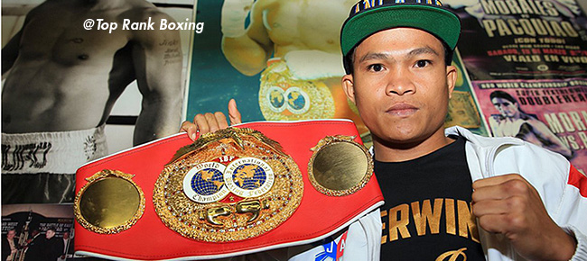 Filipino Boxing Champ Jerwin Ancajas Makes Special Appearance at ONE: KINGDOM OF HEROES
