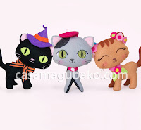 Tres Gatos - Three Cats by casamagubako.com