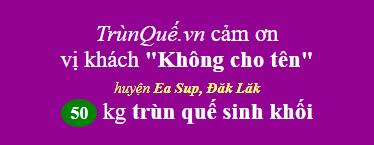 Trùn Quế huyện Ea Sup