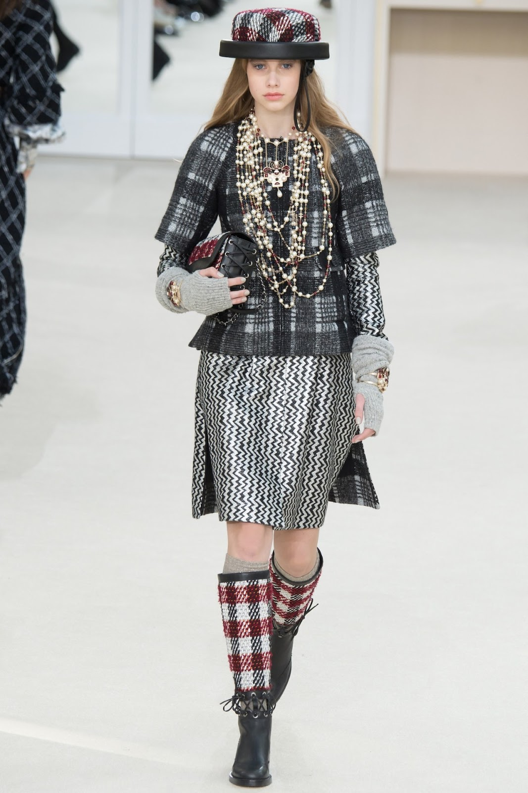 chanel fall winter paris visual optimism On chanel collection