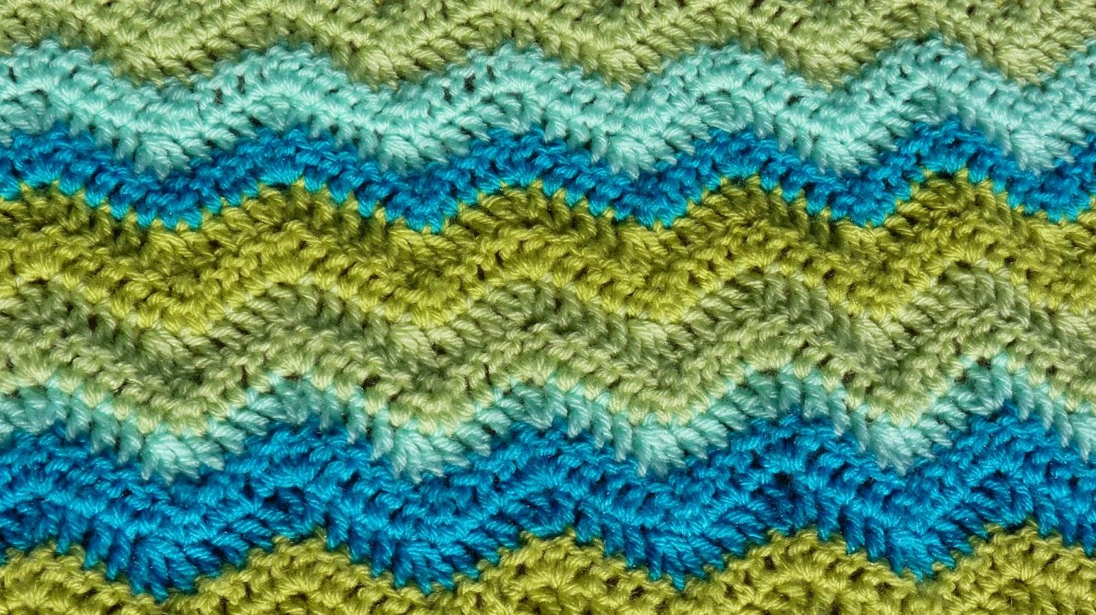 Babydecke Häkeln Wellenmuster Ber 40 Einmalige Vorschl Ge Zum