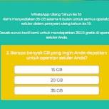 Hoax 35GB Internet Gratis