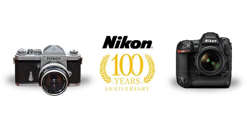 Lộ diện bộ máy ảnh phiên bản kỷ niệm 100 năm Nikon