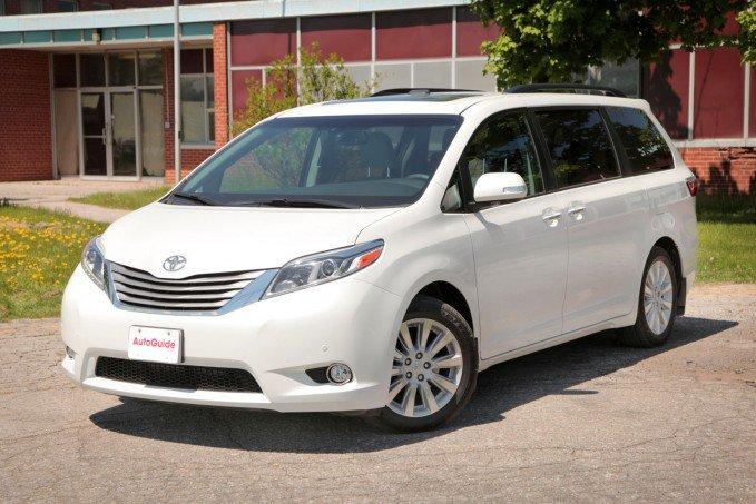 Minivan tốt nhất: Toyota Sienna