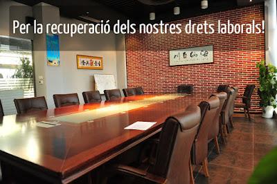 Demandes dels treballadors i treballadores de la Generalitat