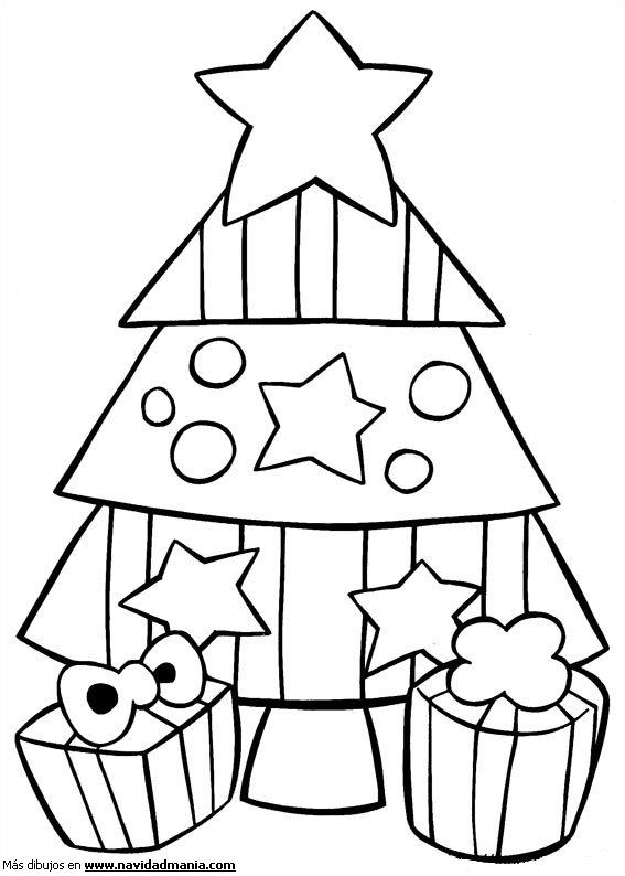 Dibujo Para Colorear De Navidad Kawaii