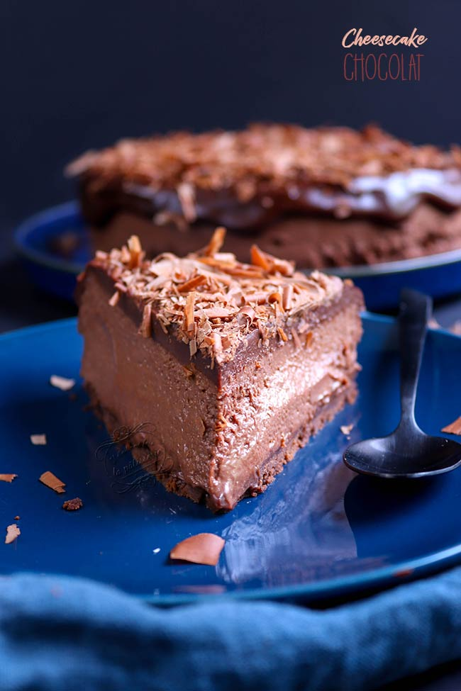 meilleur cheesecake chocolat