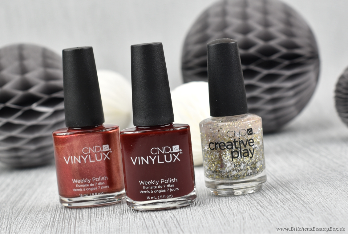 CND VINYLUX und Creative Play Nagellacke - Review, Tragebilder und Swatches