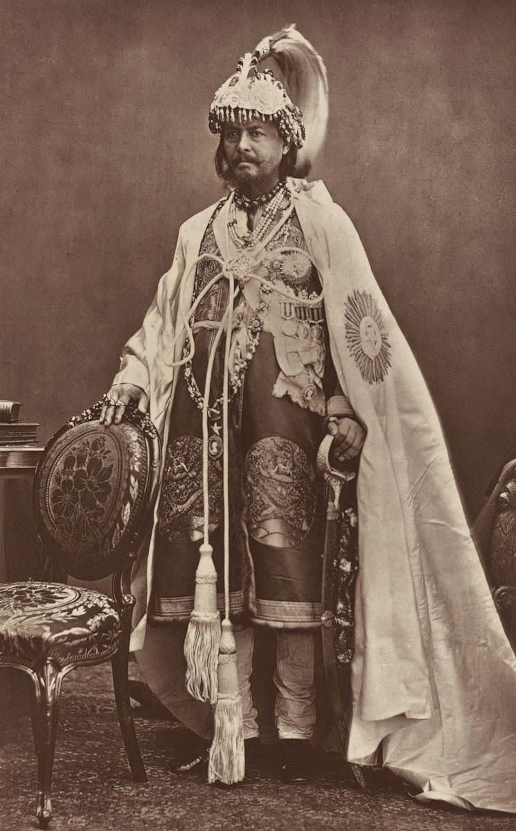 Maharaja Jung Bahadur Rana of Nepal - 1877